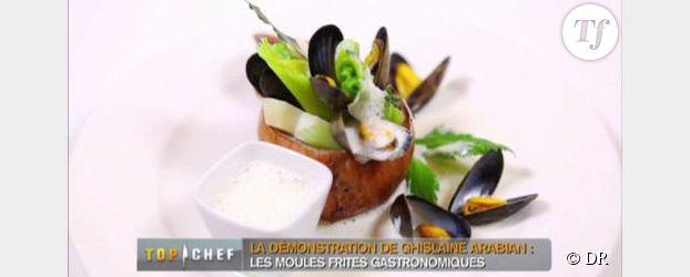 Recette Top Chef 2013 : Moules-frites gastronomiques de Ghislaine Arabian