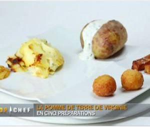 Top chef en photos - Recette pomme de terre en robe de chambre ...