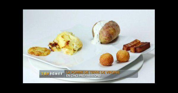 Recette top chef 2013 pomme de terre en robe des champs - Pomme de terre en robe de chambre au four ...