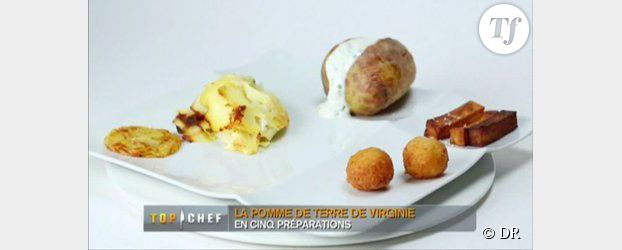 Recette top chef 2013 pomme de terre en robe des champs - Recette pomme de terre en robe de chambre ...