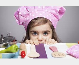 Les enfants et la cuisine