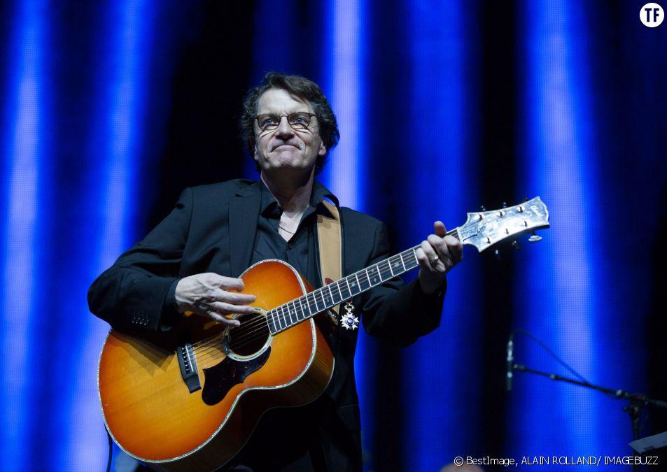 Francis Cabrel en concert au Palais 12 à Bruxelles, le 15 avril 2014