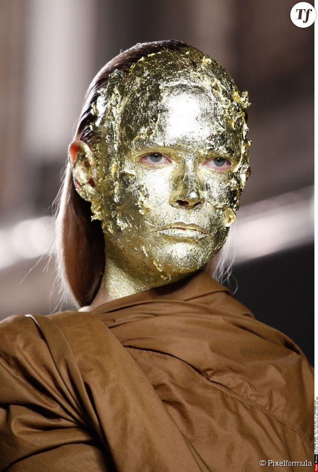 Masque or Rick Owens automne-hiver 2015-2016