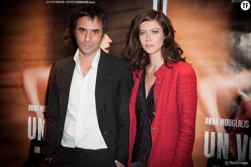 """Samuel Benchetrit, Anna Mouglalis - Avant-première du film """"Un voyage"""" à l'UGC Les Halles à Paris le 10 avril 2014."""