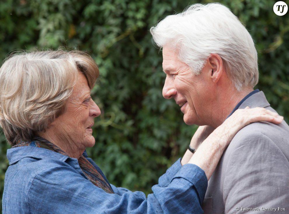 Richard Gere et Maggie Smith dans Indian Palace : Suite Royale