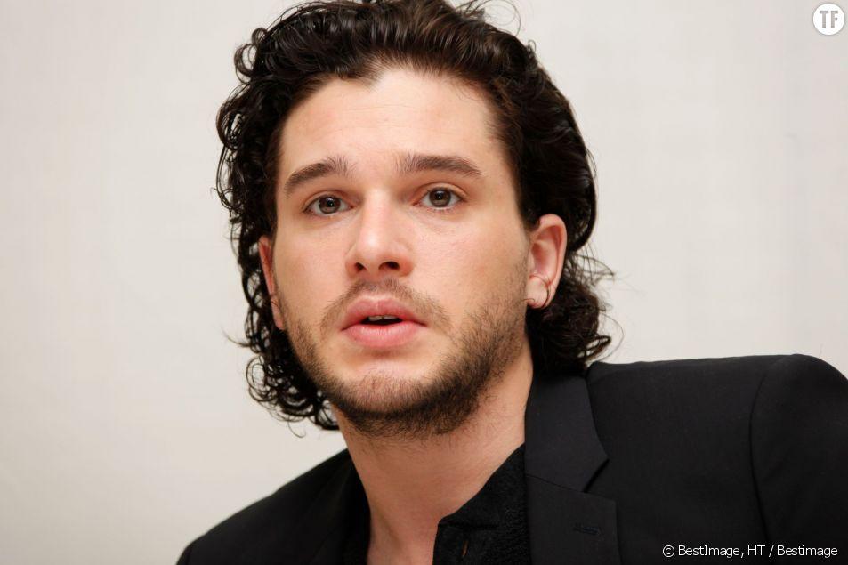"Kit Harington, alias Jon Snow dans ""Game of Thrones""."