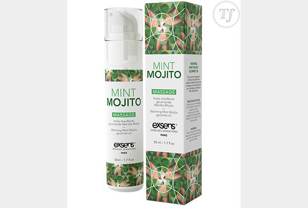 Huile de massage Exsens Mint Mojito