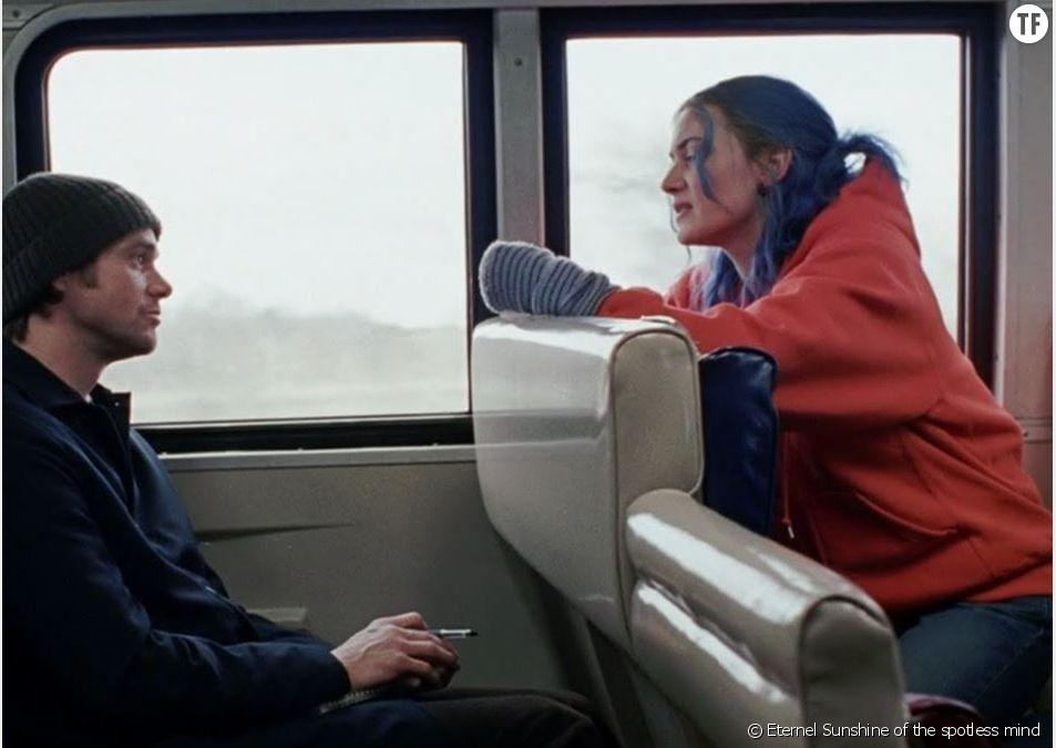 """Jim Carrey et Kate Winslet dans le film """"Eternel Sunshine of the spotless mind"""""""