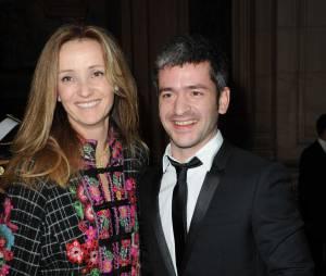 Le chanteur Grégoire et sa femme Eléonore de Galard