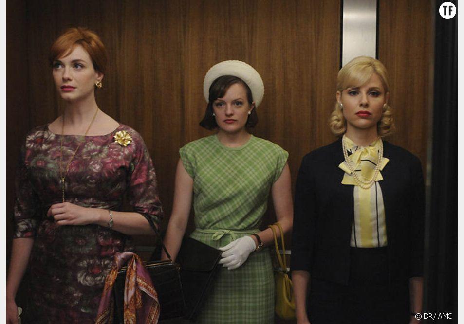"""Trois des héroïnes de """"Mad Men"""""""