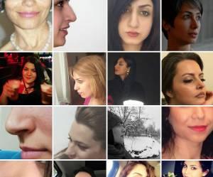 """Quand les Iraniennes affichent leur """"nez naturel"""""""