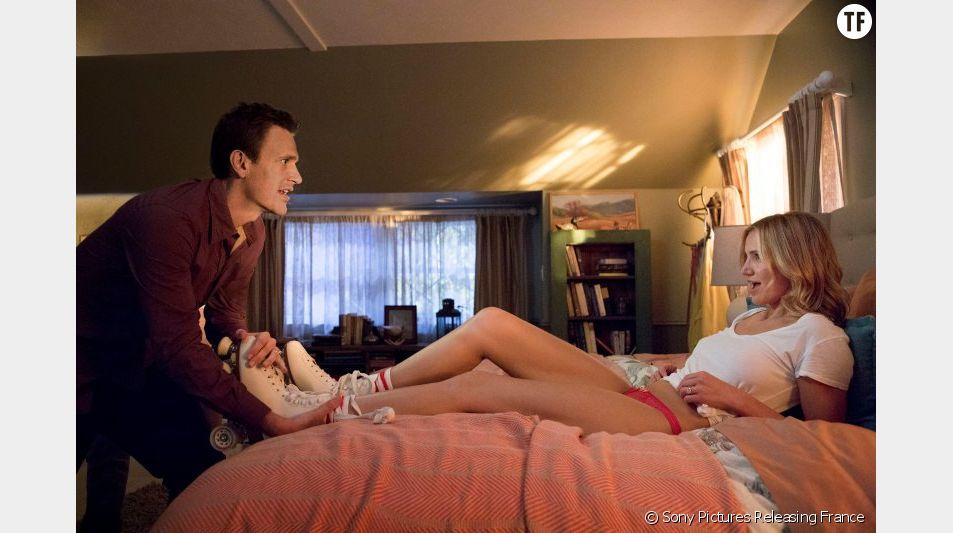 """Cameron Diaz et Jason Segel sur le point de consommer dans """"Sex Tape"""""""