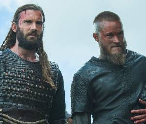 Ragnar et Rollo dans Vikings