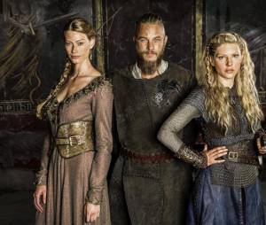 Princesse Aslaug, Ragnar et Lagertha dans Vikings