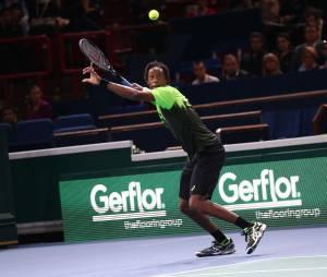 Gaël Monfils - Tournoi de tennis BNP Paribas Masters 2014 au Palais Omnisports de Paris-Bercy, le 28 octobre 2014.
