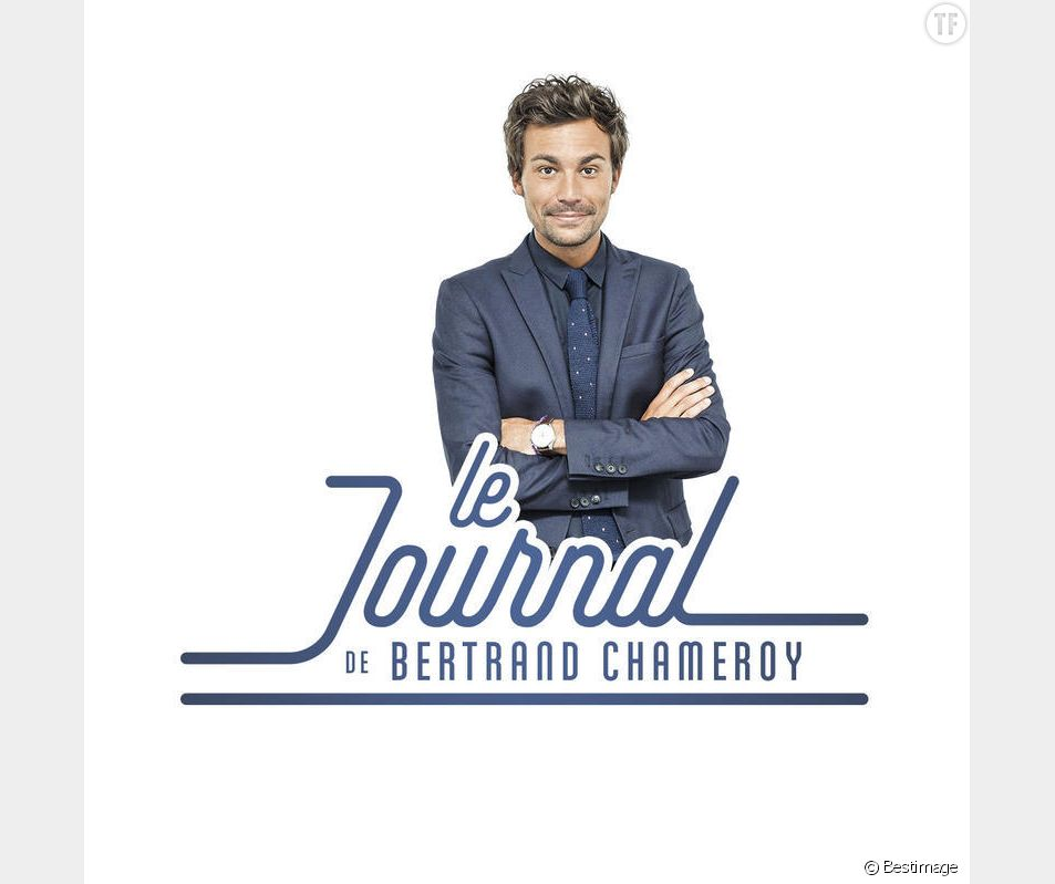"""Bertrand Chameroy (chroniqueur TPMP) - Soirée de la 2ème édition """"Les étoiles du Parisien"""" à la Bellevilloise à Paris le 15 décembre 2014."""