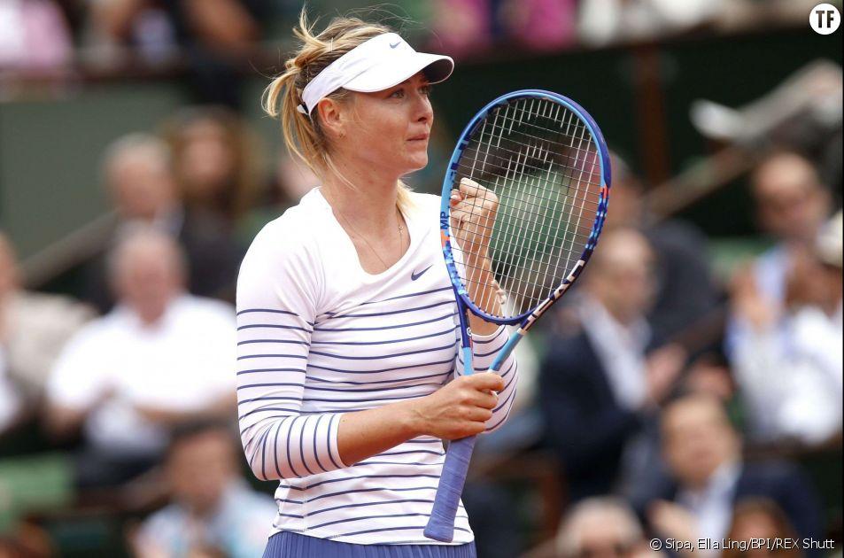 Roland Garros 2015 : La Russe Maria Sharapova