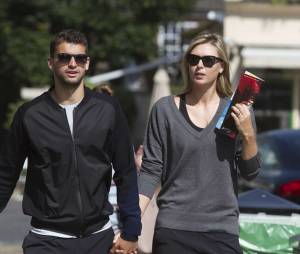 Maria Sharapova et son compagnon le joueur bulgare Grigor Dimitrov