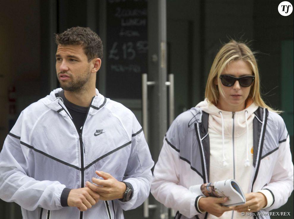 Maria Sharapova et son compagnon Grigor Dimitrov