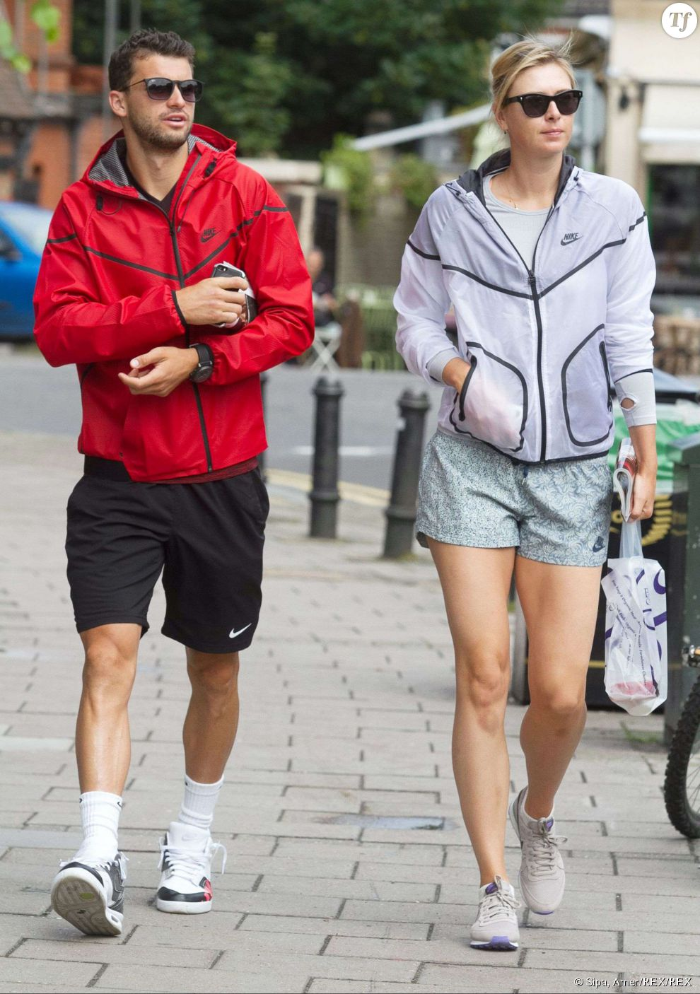 Maria Sharapova en couple avec Grigor Dimitrov