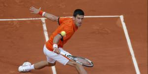 Roland Garros 2015 : Novak Djokovic, un papa gaga de son fils de 7 mois (photos)