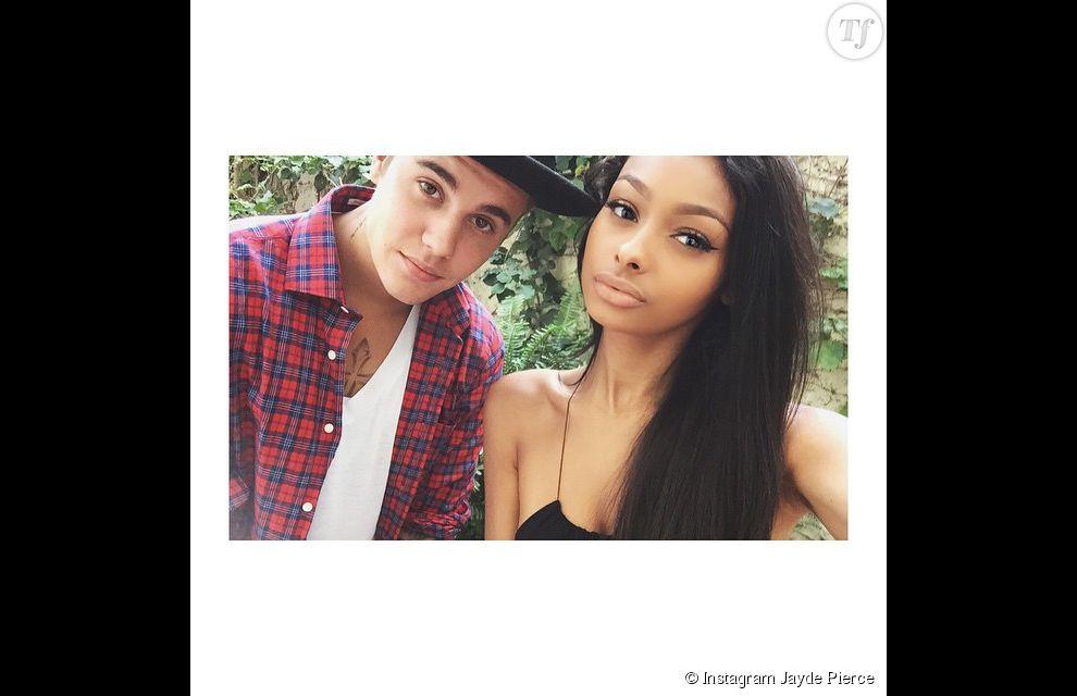 Sur l'Instagram de Jayde Pierce, le chanteur et la mannequin n'hésitent pas à s'afficher ensemble.