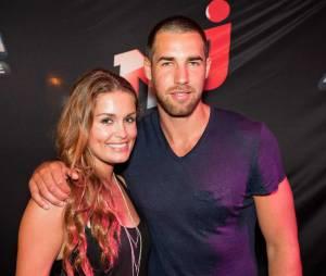 Jeny Priez et Luka Karabatic en juin 2012.