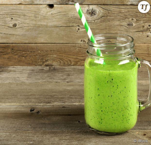 Un smoothie vert pour la forme
