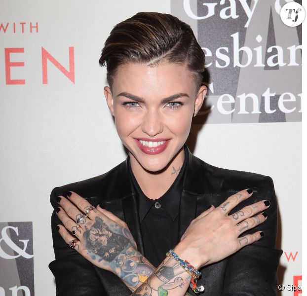 Sara Gilbert, Linda Perry11 May 2014 - Beverly Hills, California - Ruby Rose. The L.A. Gay & Lesbian Center host the 2014 An Evening with Women Gala held at The Beverly Hilton Hotel.