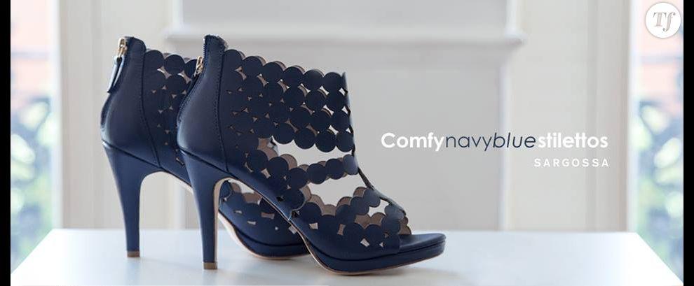 Sargossa, navy shoes
