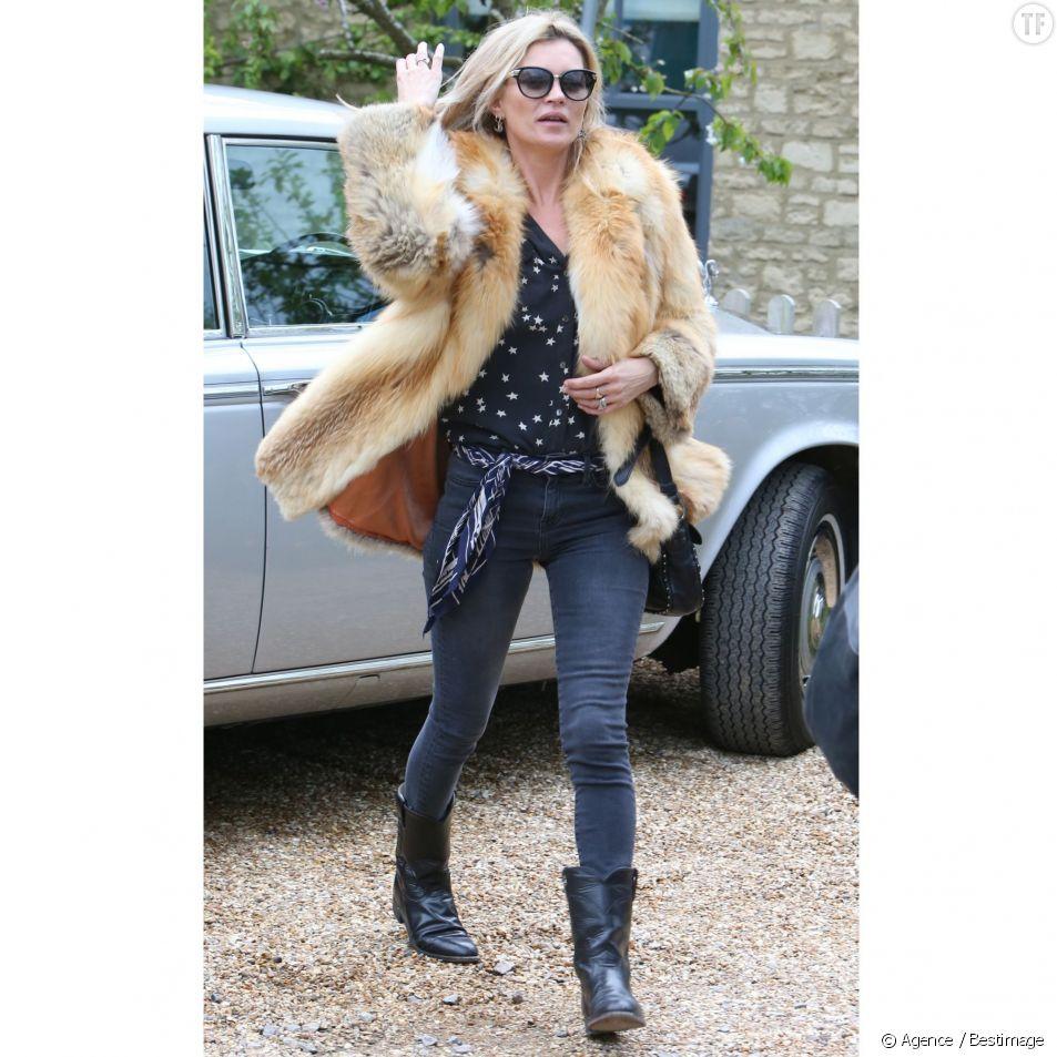 Kate Moss, skinny addict devant l'Éternel, aime-t-elle la moto ?