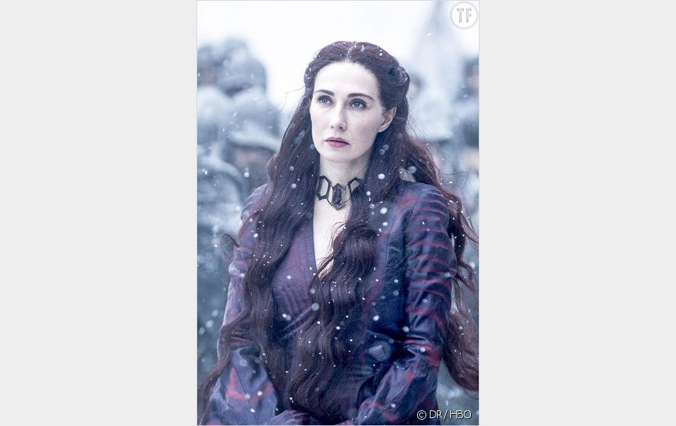"Melisandre dans la saison 5 de ""Game of Thrones"""