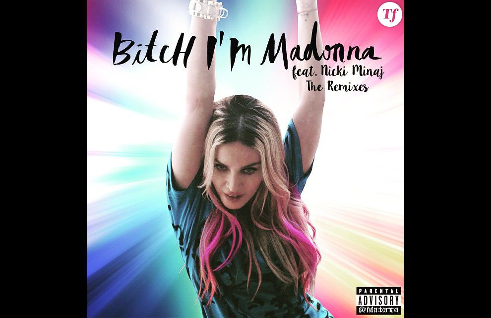"Madonna sort le clip de son nouveau single ""Bitch, I'm Madonna"" !"