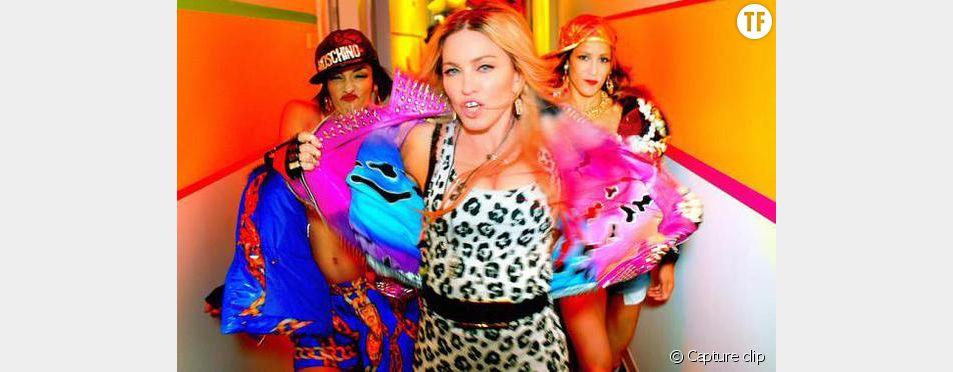 Capture d'écran du clip Bitch I'm Madonna