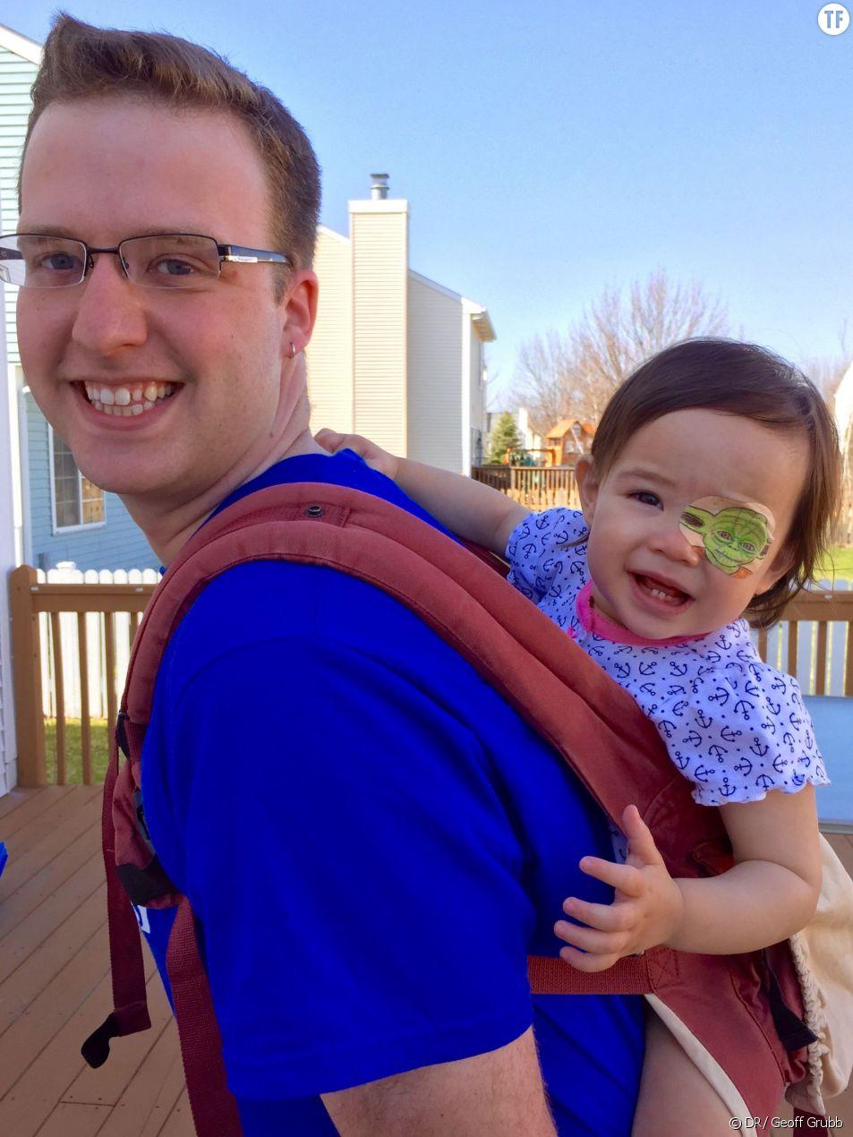 Geoff Grubb et sa fille Layla