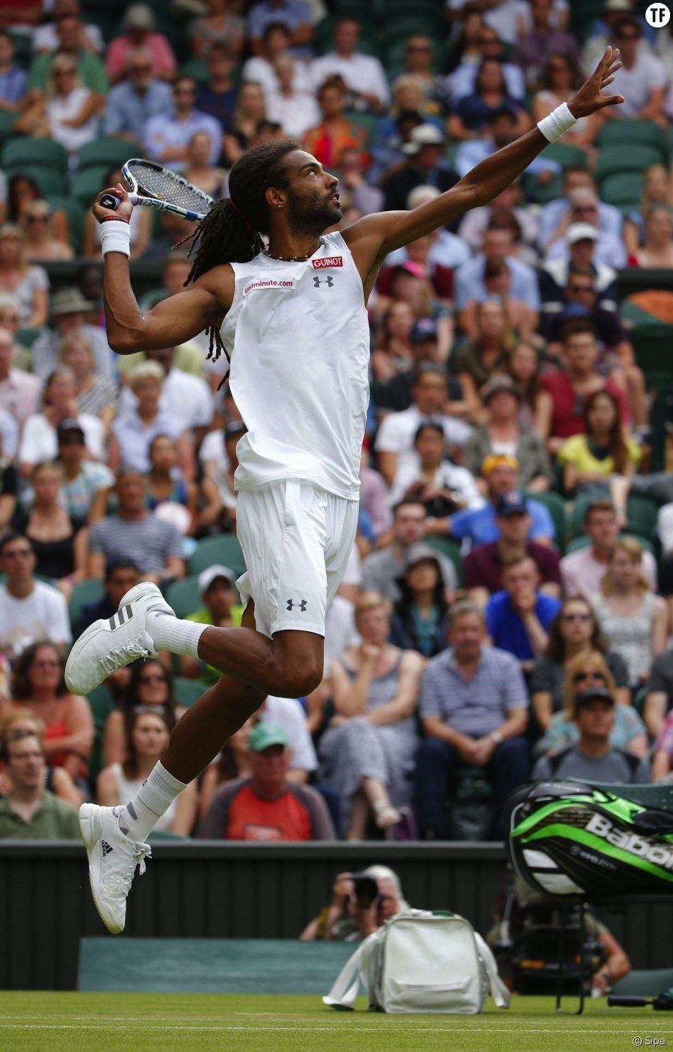 Dustin Brown, tombeur de Rafael Nadal au deuxième tour de Wimbledon en 2015