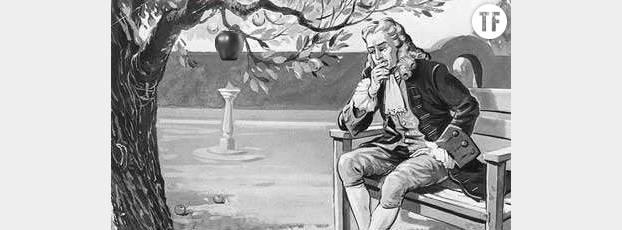 Plus la pomme est grosse, plus sa masse est lourde et plus elle sera irrésistiblement attirée vers le sol. Appliquez ce principe aux seins et vous comprendrez tout de suite de quoi il s'agit !