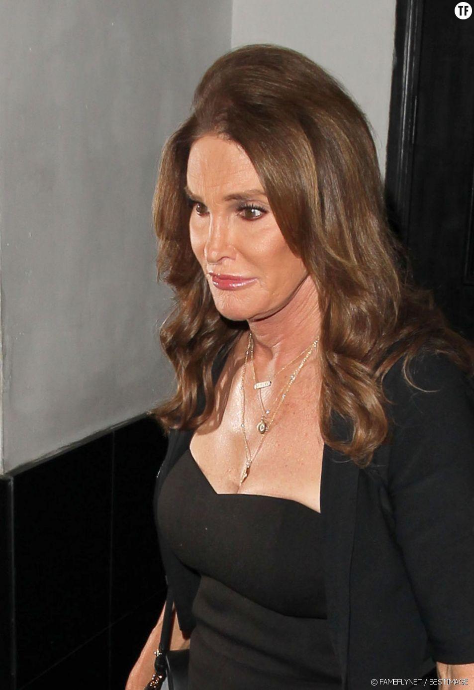 Caitlyn (Bruce) Jenner le 29 juillet 2015 après son changement de sexe.