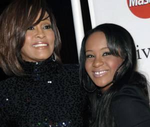 Whitney Houston et sa fille Bobbi Kristina en 2011