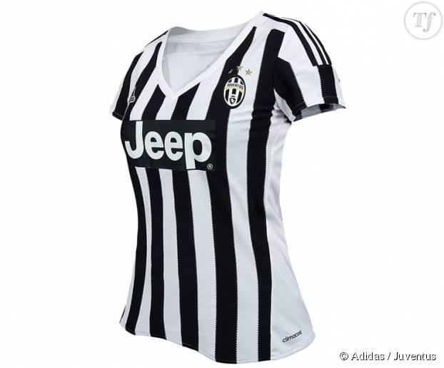 Le maillot pour femmes de la Juventus.