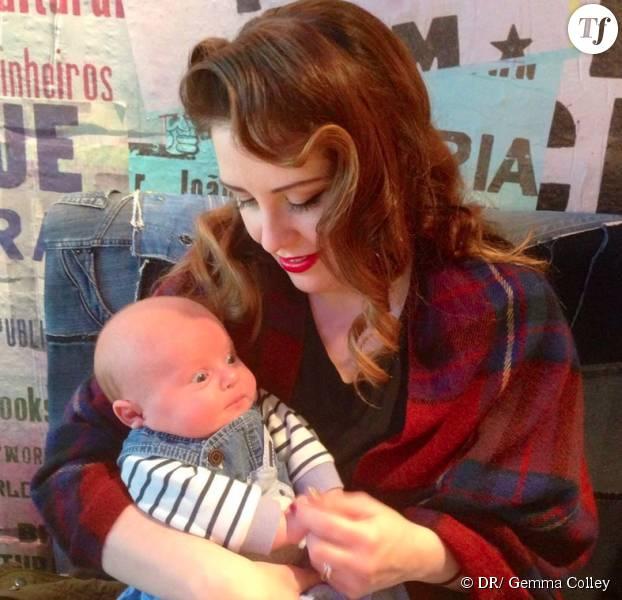 Gemma et son bébé