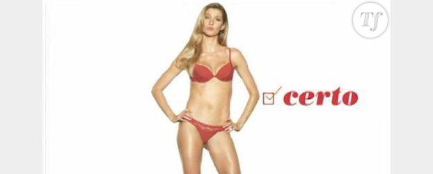Gisele Bündchen : sa pub jugée trop sexiste est censurée. Vidéo