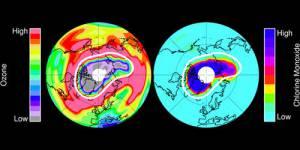 Le pôle Nord perd sa couche d'ozone à cause du froid
