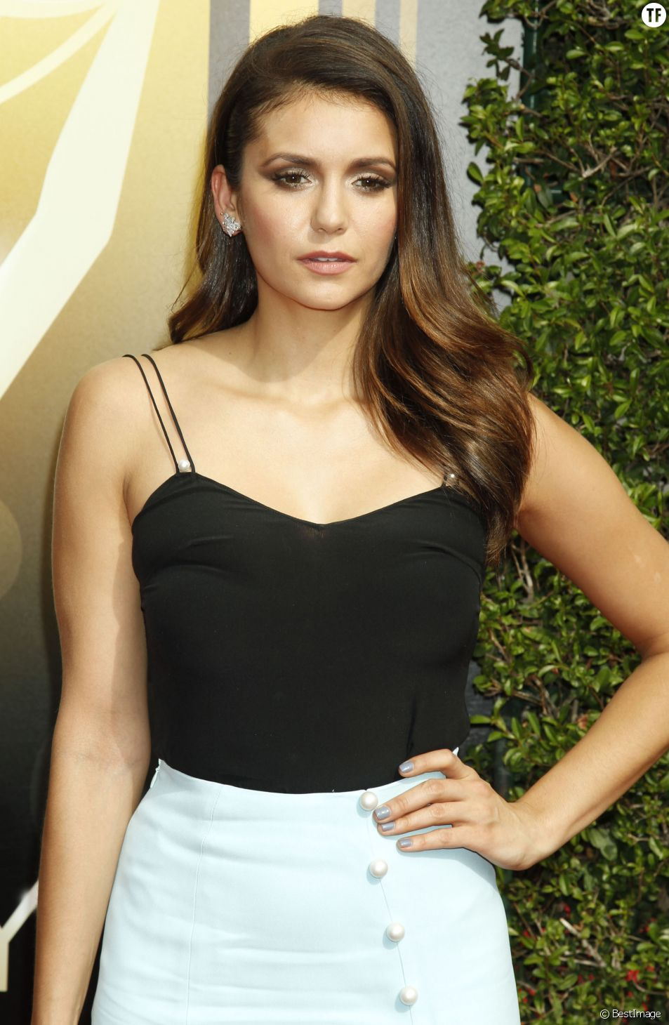 "Nina Dobrev - Soirée ""Creative Emmy Awards"" à Los Angeles le 12 septembre 2015."