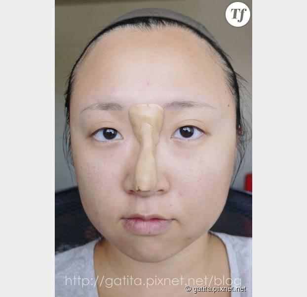 Voilà à quoi est censé ressembler le faux nez en question...