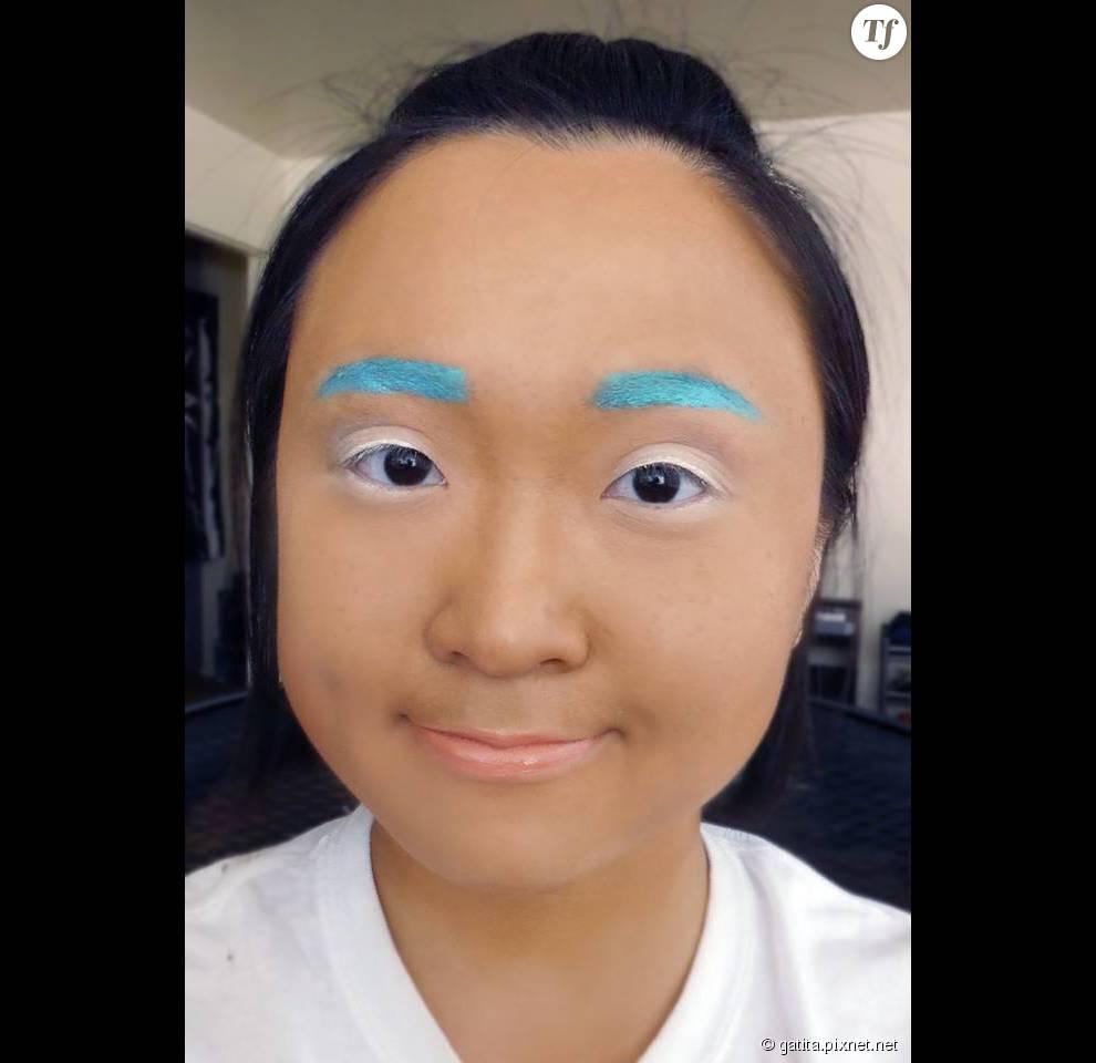 Nao s'adonne même aux sourcils bleus fluo, ça vous tente ?