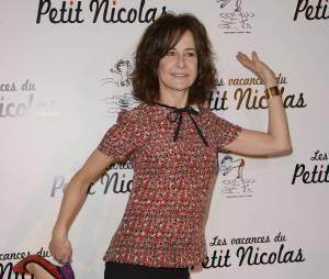 """Valérie Lemercier à l'avant-première du film """"Les vacances du petit Nicolas"""" en juin 2014"""