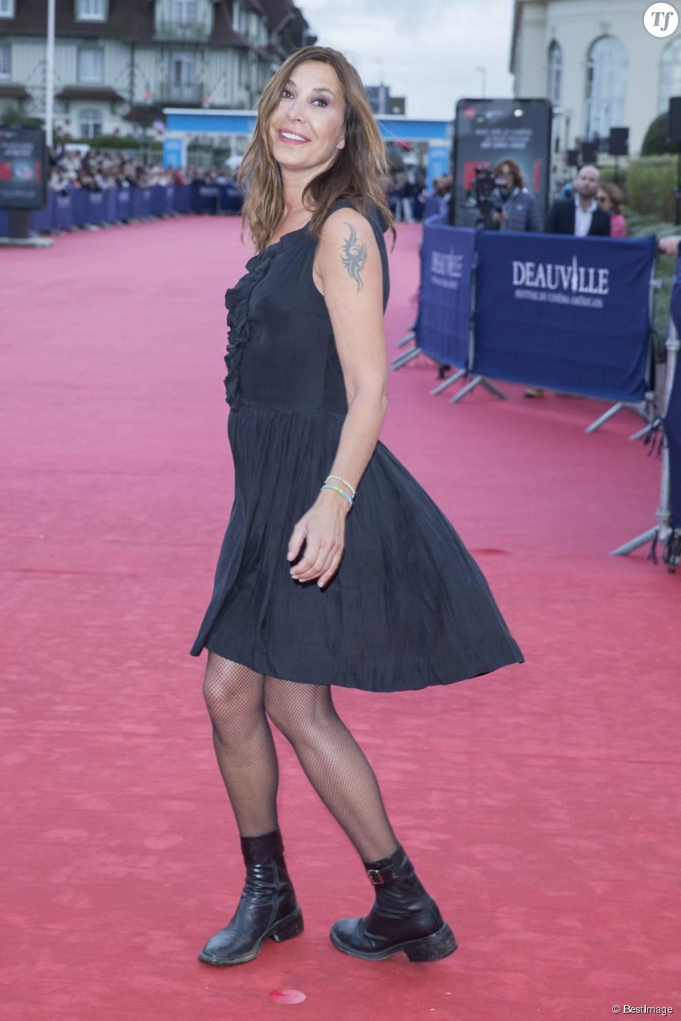 """Zazie - Tapis rouge du film """"Life"""" lors du 41ème Festival du film américain de Deauville, le 5 septembre 2015."""