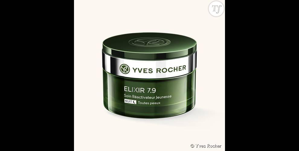 Crème réactivateur jeunesse nuit , Yves Rocher (36 euros)
