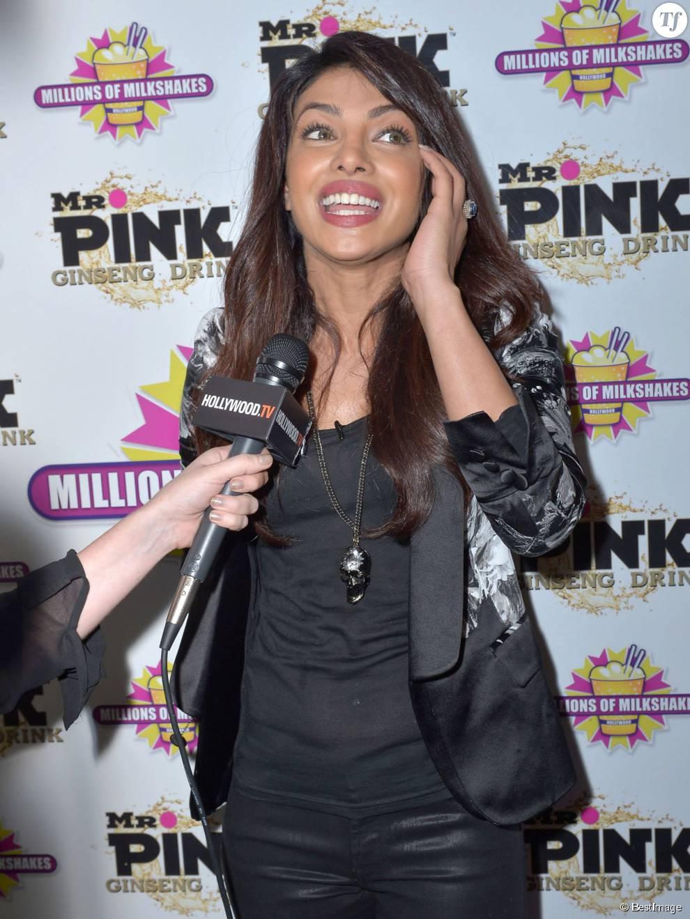 "Priyanka Chopra participe au "" Millions Of Milkshakes "" a Santa Monica Le 26 Juillet 2013"